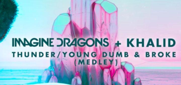 Текст песни«Thunder / Young Dumb & Broke (Medley)»
