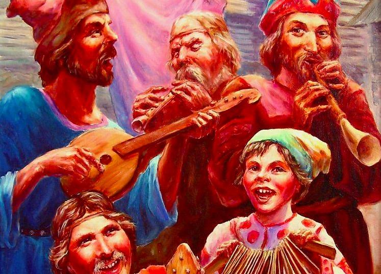 Выйду на улицу - Русская народная песня
