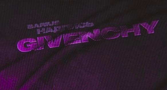 Barius Надпись Givenchy